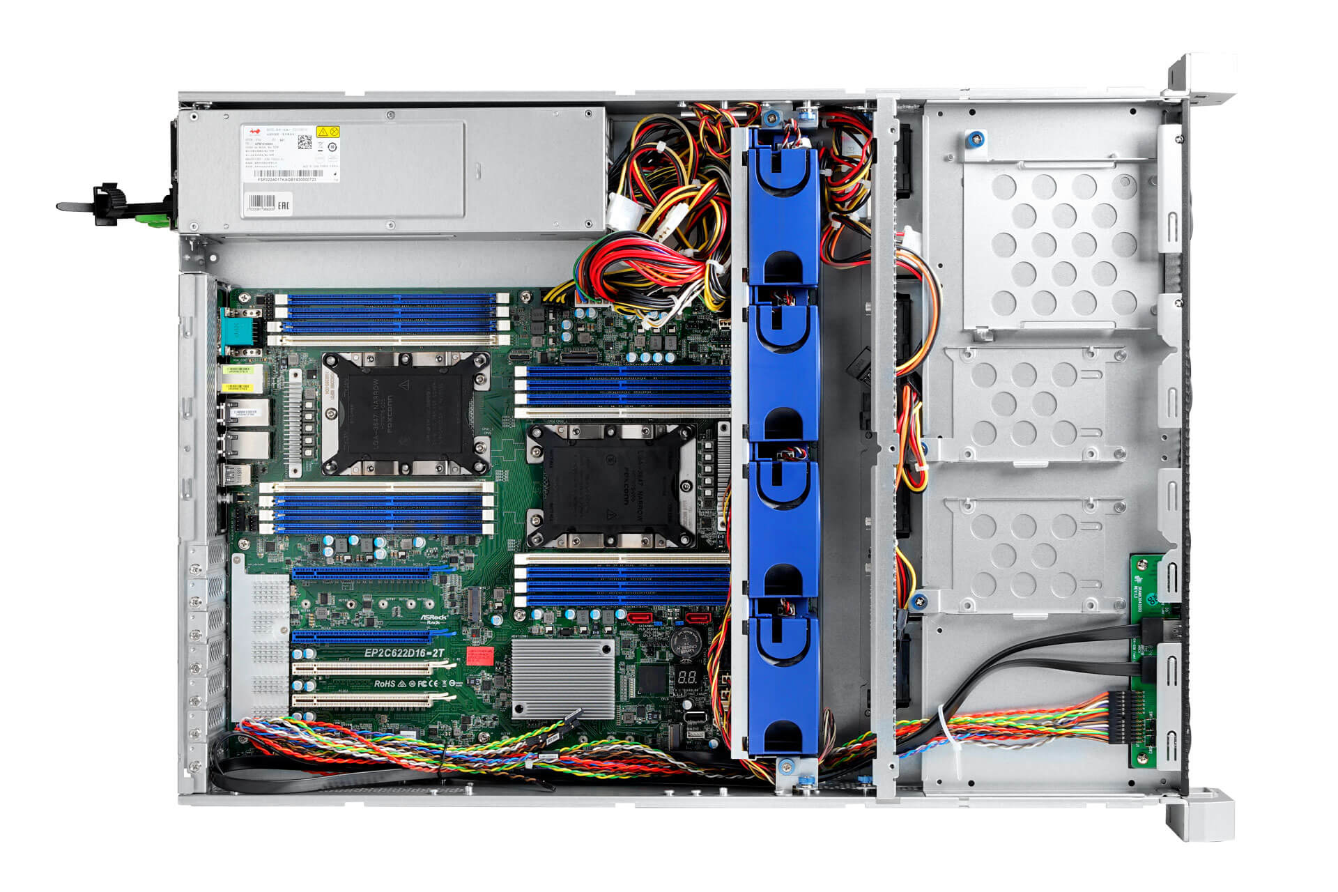 IW-RS208-02M - server system assembly